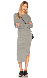 Long sleeve crew neck midi dress - J.O.A.