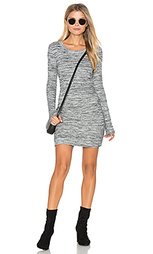 Long sleeve rib dress - Fifteen Twenty