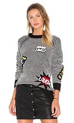 Patch sweater - Autumn Cashmere