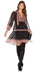 Шелковое платье alpina - Joie