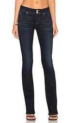 Девичьи джинсы-клёш средней посадки beth - Hudson Jeans