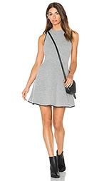 Вязаное мини платье из мохера barlow - Greylin