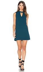 Цельнокроеное мини платье с овальным вырезом dawnson - Greylin