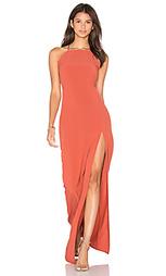 Макси платье с квадратным вырезом - Donna Mizani