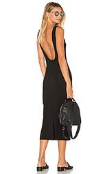 Платье миди klum - TROIS