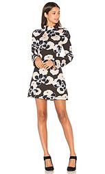 Платье с ложным воротником - SUNO