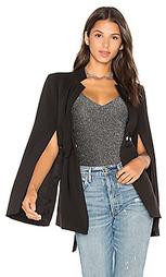 Куртка с завязкой спереди и разрезом на рукавах - Lavish Alice