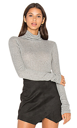 Rib turtleneck top - LEO & SAGE