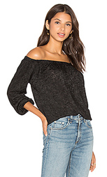 Блуза с открытыми плечами и длинным рукавом zinnia - Velvet by Graham & Spencer