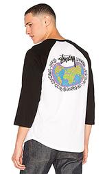 Топ с цельным рукавом global designs - Stussy