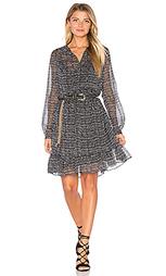Облегающее миди платье с длинным рукавом - Maison Scotch