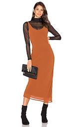 Макси платье rima bias - Line & Dot