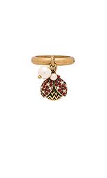 Кольцо charms ladybug - Marc Jacobs