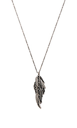 Ожерелье с длинным подвесом dark plumes - Marc Jacobs