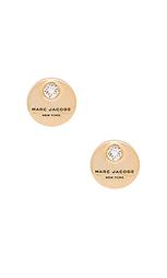 Серьги-гвоздики mj coin - Marc Jacobs