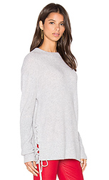 Arianne lace side sweatshirt - RtA