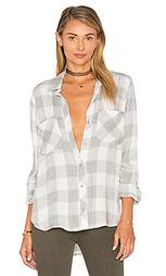 Фланелевая рубашка в клеточку на пуговицах reston - Bella Dahl