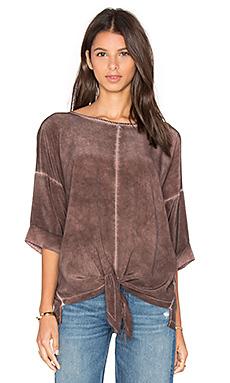 Блуза с завязкой спереди - YORK street