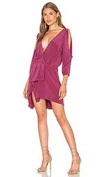 Open shoulder drape dress - Michelle Mason