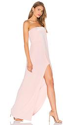 Вечернее платье без бретелек - Halston Heritage