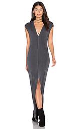 Макси платье с разрезом спереди mavi - NYTT