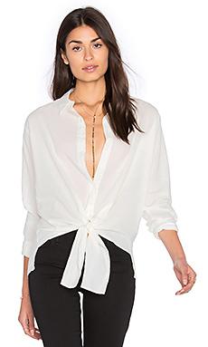 Рубашка на пуговицах с завязкой спереди - YORK street