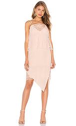 Lace tier ruffle dress - Michelle Mason