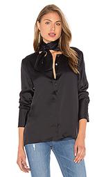 Шелковая блуза с завязкой на шее leema - Equipment