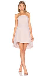 Структурированное платье без бретелек - Halston Heritage