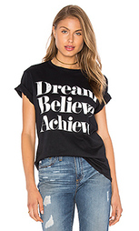 Футболка dream believe achieve - Sincerely Jules