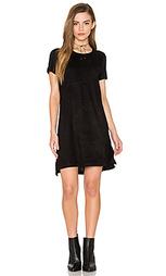Платье с замшевыми вставками короткий рукав - Bishop + Young