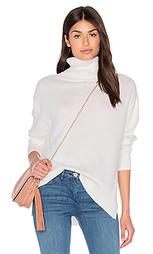 Свободный свитер с высоким воротом - Enza Costa