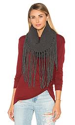 Широкий шарф с бахромой - Michael Stars