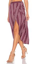 Миди юбка в полоску с асимметричным подолом - Band of Gypsies