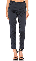 Stretch satin classic slim pant - ATM Anthony Thomas Melillo