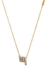 Ожерелье с инкрустированным подвесом - Marc Jacobs