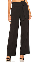 Wide leg tied waist pant - STELLA FOREST
