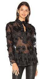 Блуза с завязкой на шее - cacharel