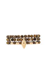 Wood bead bracelets - Ettika