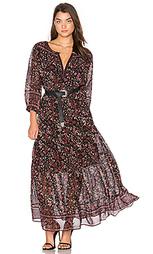 Шелковое платье clover - Joie