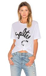 Свободная футболка salty - Aila Blue