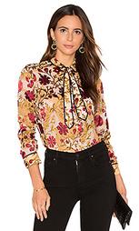 Контрастная блуза cora - Alice + Olivia