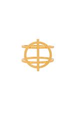 Круглое кольцо anya - gorjana