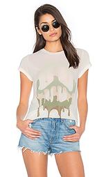 Классическая футболка peace edda - Lauren Moshi