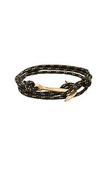 Веревочный браслет с медным якорем - Miansai