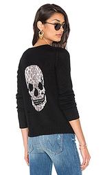 Кашемировый свитер с рисунком череп raj - 360 Sweater