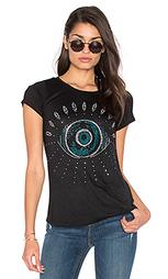 Классическая футболка с рисунком глаз janie - Lauren Moshi