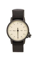 Часы на черном/сланцевом нейлоном браслете - Miansai