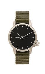 Часы на черном нейлоном браслете m24 ii - Miansai