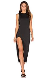 Платье с асимметричным вырезом - Lurelly